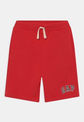 BOY LOGO  - Træningsbukser - pure red