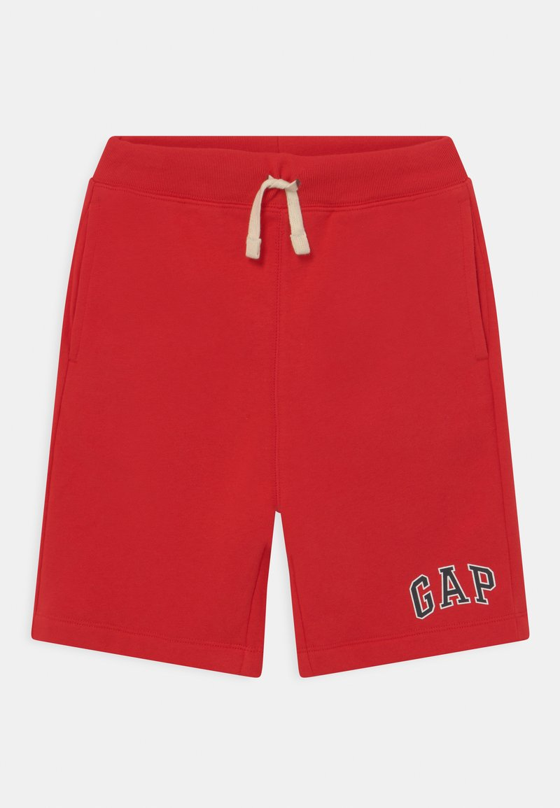GAP - BOY LOGO  - Tracksuit bottoms - pure red