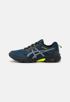 GEL-VENTURE 8 AWL - Walking trainers - french blue/safety yellow