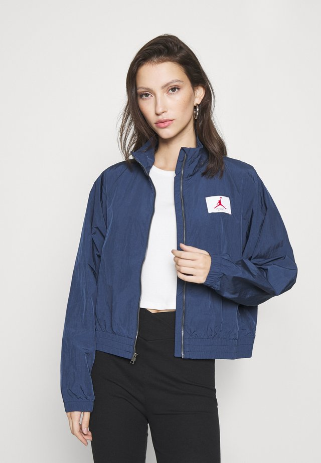 Summer jacket - navy/desert berry