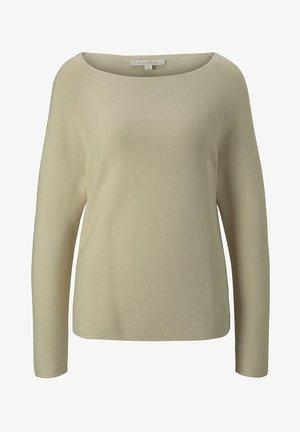 MIT RAGLAN-ÄRMEL - Sweter - soft creme beige