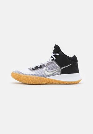 KYRIE FLYTRAP 4 - Basketball shoes - black/metallic cool grey/white
