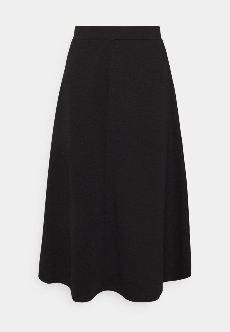 Object - OBJSAVA SKIRT - Spódnica trapezowa - black
