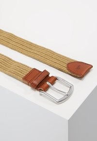 Polo Ralph Lauren - BRAIDED FABRIC STRETCH - Pásek - timber brown - 2