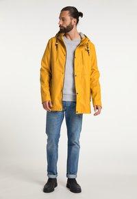 Schmuddelwedda - Waterproof jacket - curry - 1