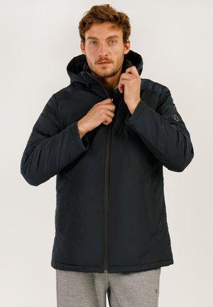MIT MODISCHEM DESIGN - Winter jacket - cosmic blue