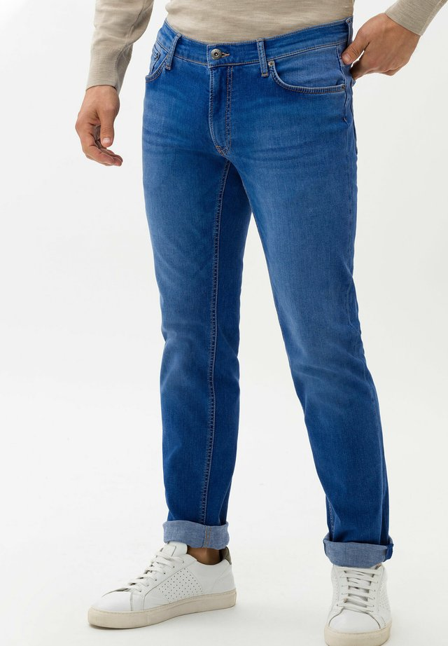 CHUCK - Jeans Slim Fit - electric blue used