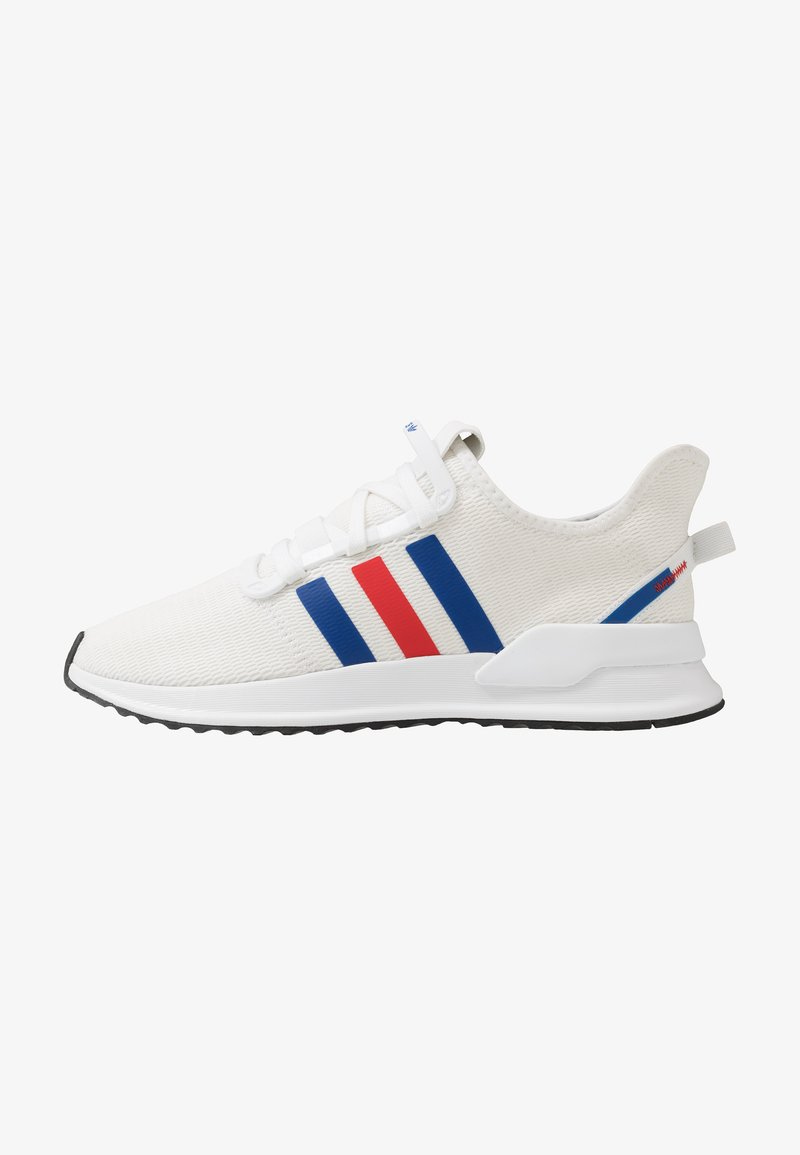 adidas Originals - PATH RUN - Sneaker low - footwear white/royal blue/lush red