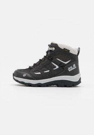 VOJO TEXAPORE MID UNISEX - Hiking shoes - phantom/light grey