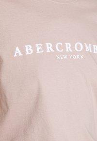 Abercrombie & Fitch - PARIS LOGO TEE  - Print T-shirt - pink - 5