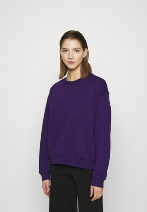 HUGE CROPPED - Sweatshirt - purple