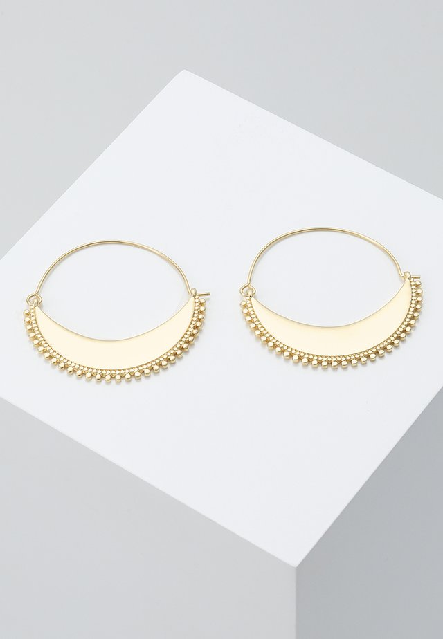 EARRINGS KIKU - Boucles d'oreilles - gold-coloured
