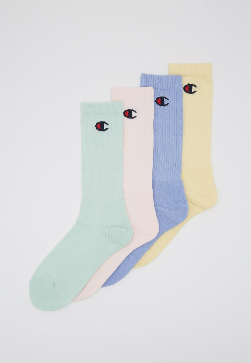 Champion - PASTEL CREW SOCKS 4 PACK - Sportsokken - multi-coloured