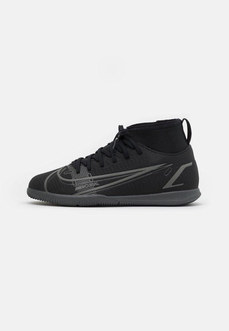 Nike Performance - MERCURIAL 8 CLUB IC UNISEX - Indoor football boots - black/iron grey