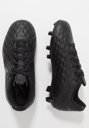TIEMPO JR LEGEND 8 ACADEMY FG/MG UNISEX - Moulded stud football boots - black