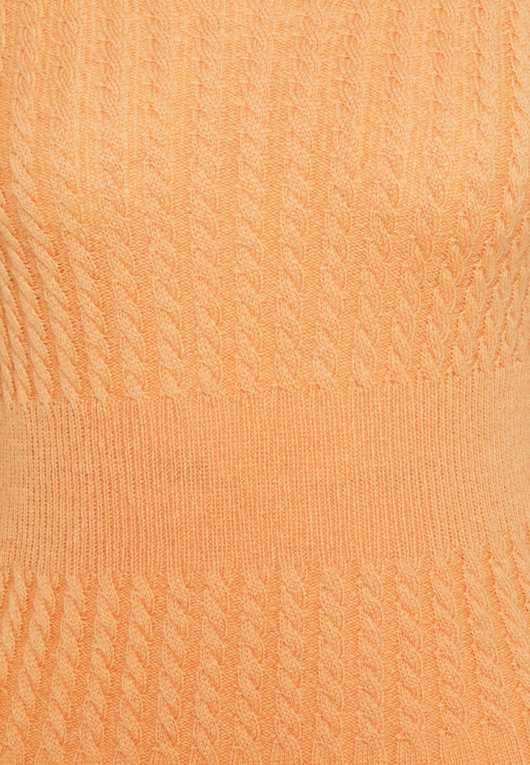 Marc Cain Strickkleid apricot beige/beige