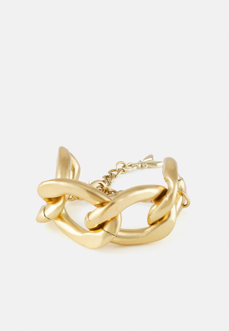 Patrizia Pepe - CHAIN ATTRACTION BRACELET - Bracelet - antique gold-coloured