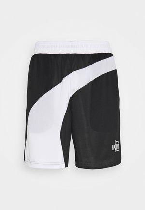 FLARE SHORT - Sports shorts - black