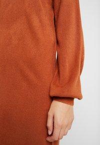 ONLY - ONLJESSIE BOATNECK DRESS - Jumper dress - ginger bread - 5
