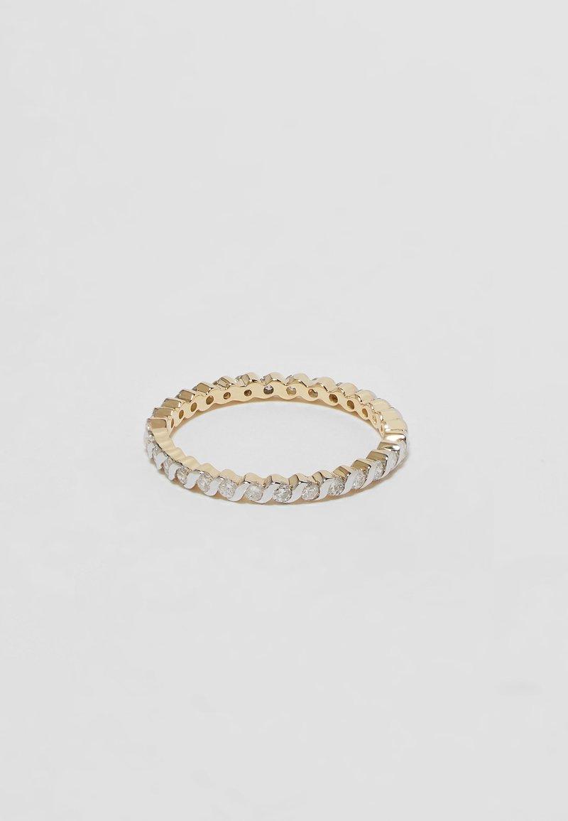 DIAMANT L'ÉTERNEL - Ring - gold-coloured