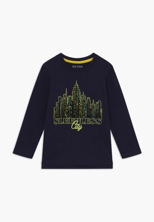 KIDS 3D CITY GLOW IN THE DARK - Longsleeve - dark blue