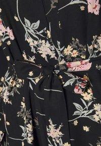 PIECES Tall - PCPAOLA DRESS - Shirt dress - black - 5