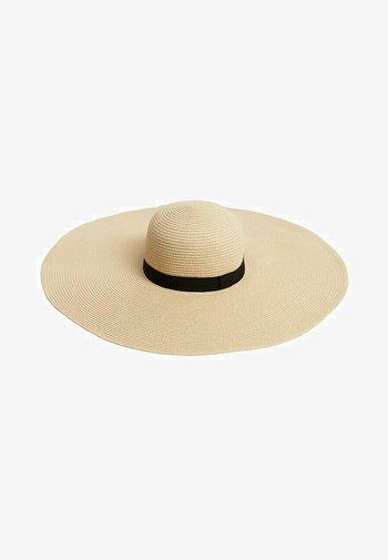MIT BREITER KREMPE - Hat - sandfarben