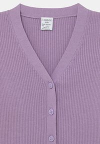 Lindex - MINI V-NECK - Kardigan - light lilac - 2