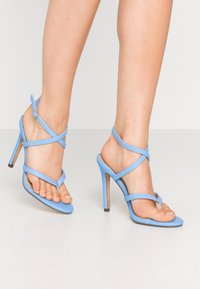 4th & Reckless - PENNY - High heeled sandals - blue - 0