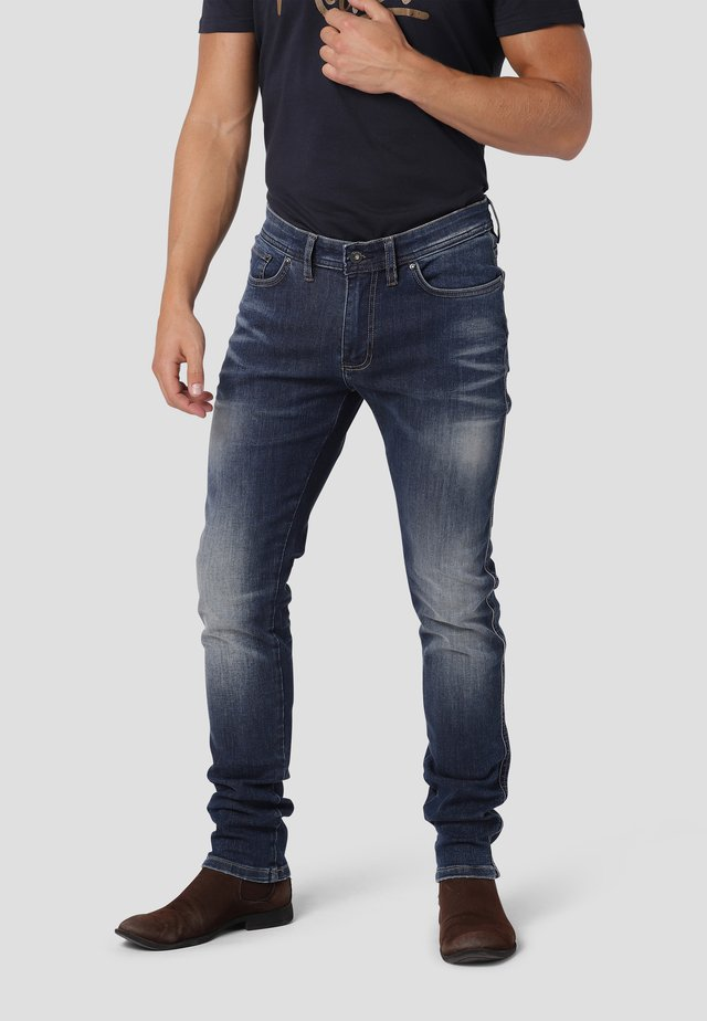 SKINNY - Jeans Skinny Fit - blue moon used