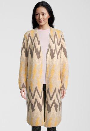 Classic coat - sesame