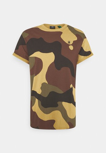 LASH  - Basic T-shirt - wood