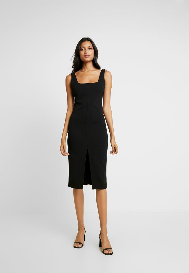 THE COMPROMISE DRESS - Korte jurk - black