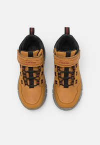 Geox - FLEXYPER BOY ABX - Classic ankle boots - dark yellow/black - 3
