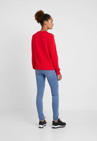 Nike Sportswear - CREW - Sweatshirt - university red/white - 2