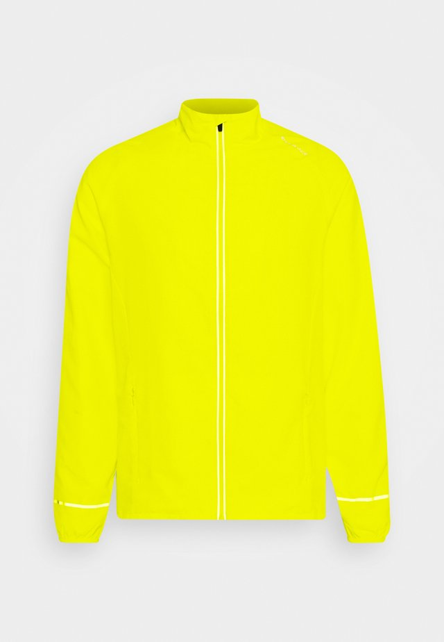 LESSEND JACKET - Hardloopjack - safety yello