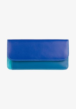 SIMPLE FLAPOVER - Wallet - blue