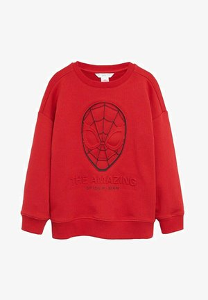 MAN - Sweatshirt - rouge