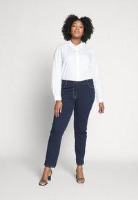 Persona by Marina Rinaldi - ICONA - Slim fit jeans - blu marino - 1