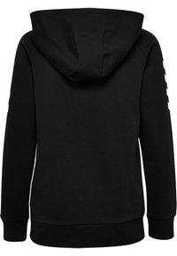 Hummel - HMLGO - Zip-up sweatshirt - black - 1