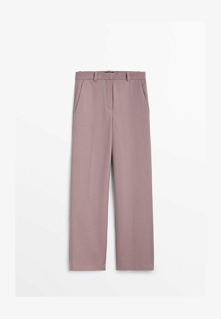 Massimo Dutti - Trousers - mauve