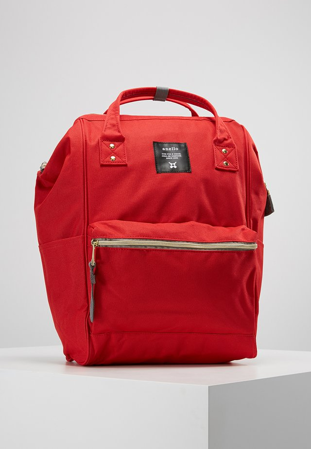 STANDARD TOTE PATCH LOGO UNISEX - Batoh - red