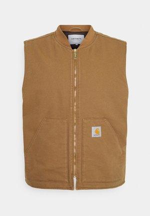 CLASSIC VEST DEARBORN - Waistcoat - hamilton brown rinsed