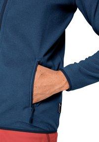 Jack Wolfskin - Fleece jacket - indigo blue stripes - 2