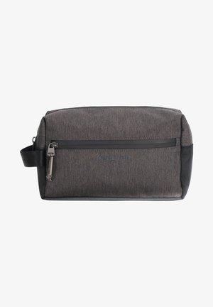 Wash bag - dark iron