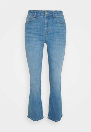 JOHANNA - Flared jeans - denim blue