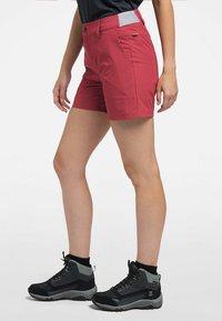 Haglöfs - AMFIBIOUS SHORTS - Outdoor shorts - brick red - 2