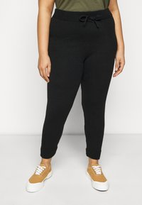 Dorothy Perkins Curve - Tracksuit bottoms - black - 0
