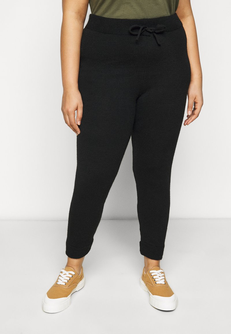 Dorothy Perkins Curve - Tracksuit bottoms - black