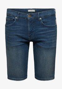 edc by Esprit - Szorty jeansowe - blue dark washed - 8